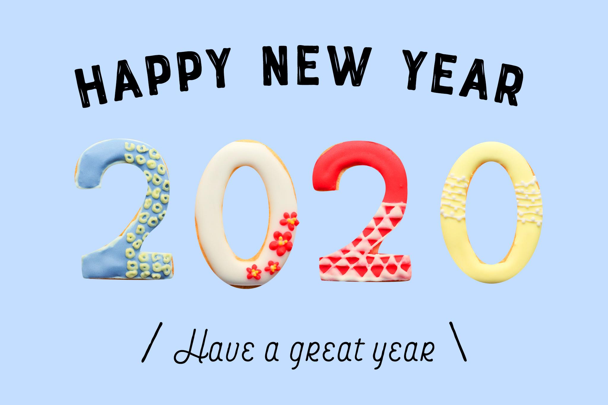2020年あけましておめでとうございます♡